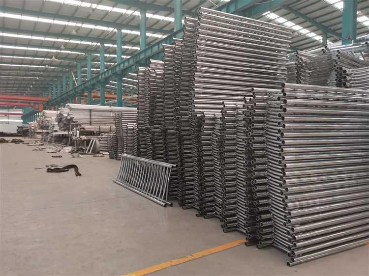 石家庄防撞不锈钢复合管护栏厂家供应商