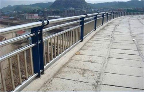 迪庆304不锈钢复合管桥梁护栏安装快捷简单