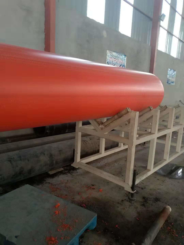 大口径输水管道鄂尔多斯HDPE钢带波纹管道厂家现货