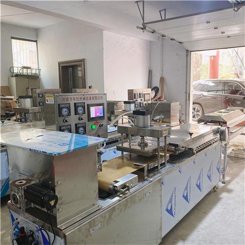 甘肅省雞肉卷餅機圖片行業出爐-資訊