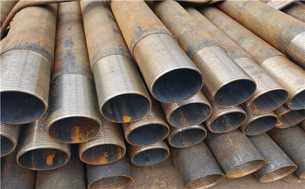 葫芦岛地铁排水用注浆管121*3*4注浆钢花管施工方法