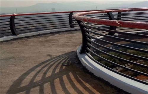 蚌埠木纹转印景观护栏厂家直销