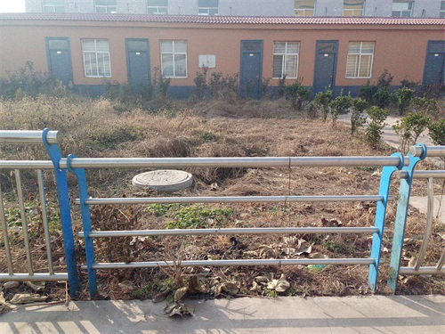 自贡桥梁景观不锈钢栏杆生产供应