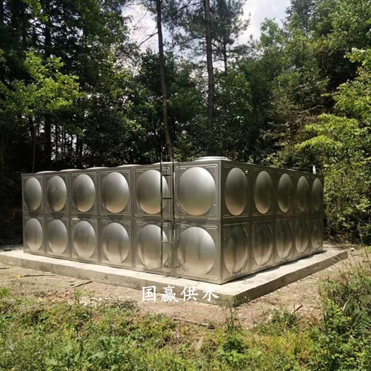 安徽岳西不锈钢方型水箱耐腐蚀